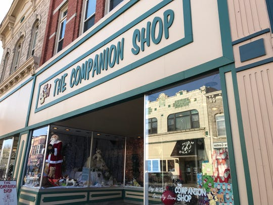 The Companion Shop, 937 Main St. in Stevens Point