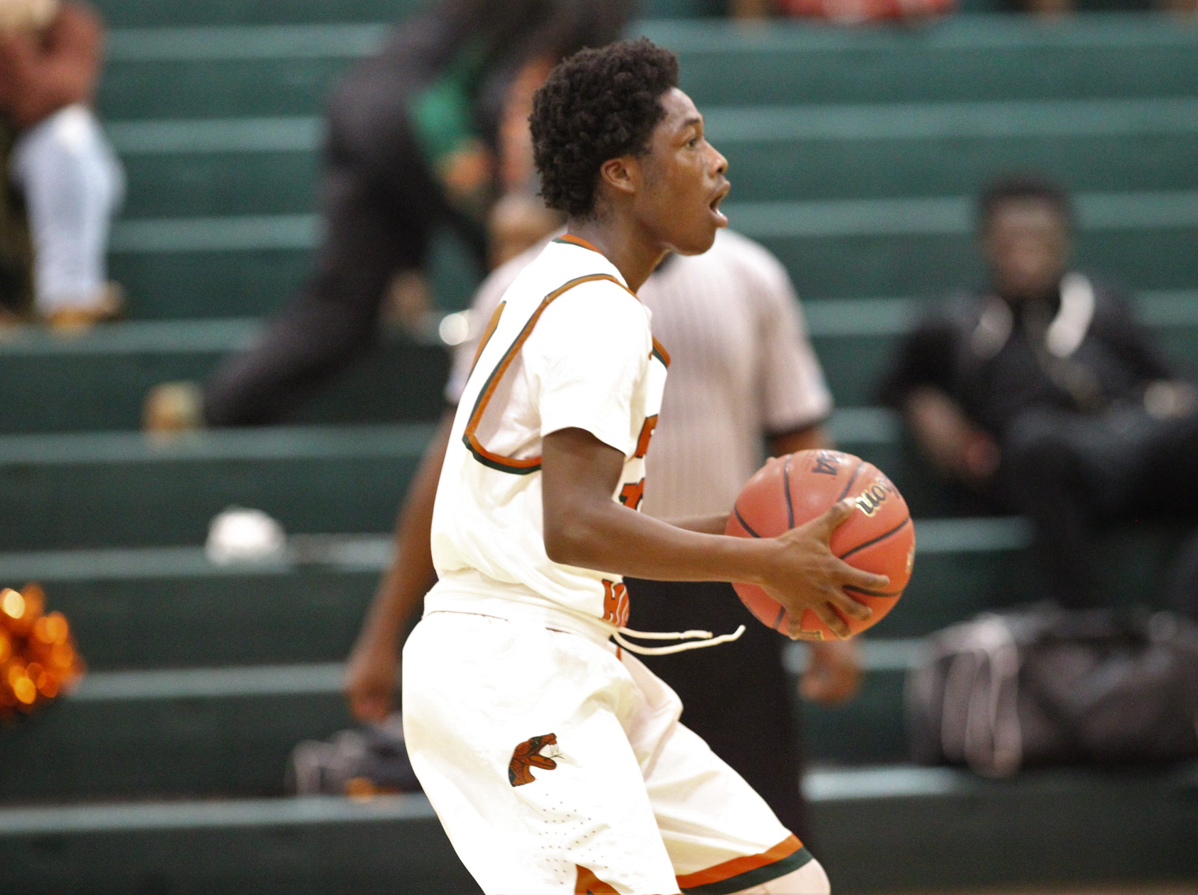 St. John Paul II plays at FAMU DRS on Dec. 4, 2018.