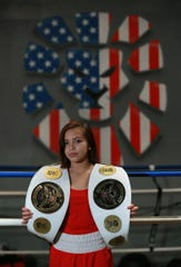 Fifteen-year-old boxer Kayla Gomez earned a spot on the U.S. national boxing team.