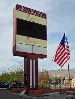 El Paso County Coliseum flag.