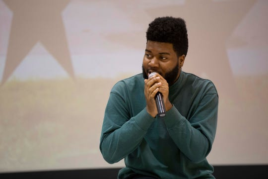 Music superstar and El Pasoan Khalid visited Ernesto Serna School in 2018 to deliver gifts to students. Khalid graduated from Americas High School, also in the Socorro ISD, in 2016.