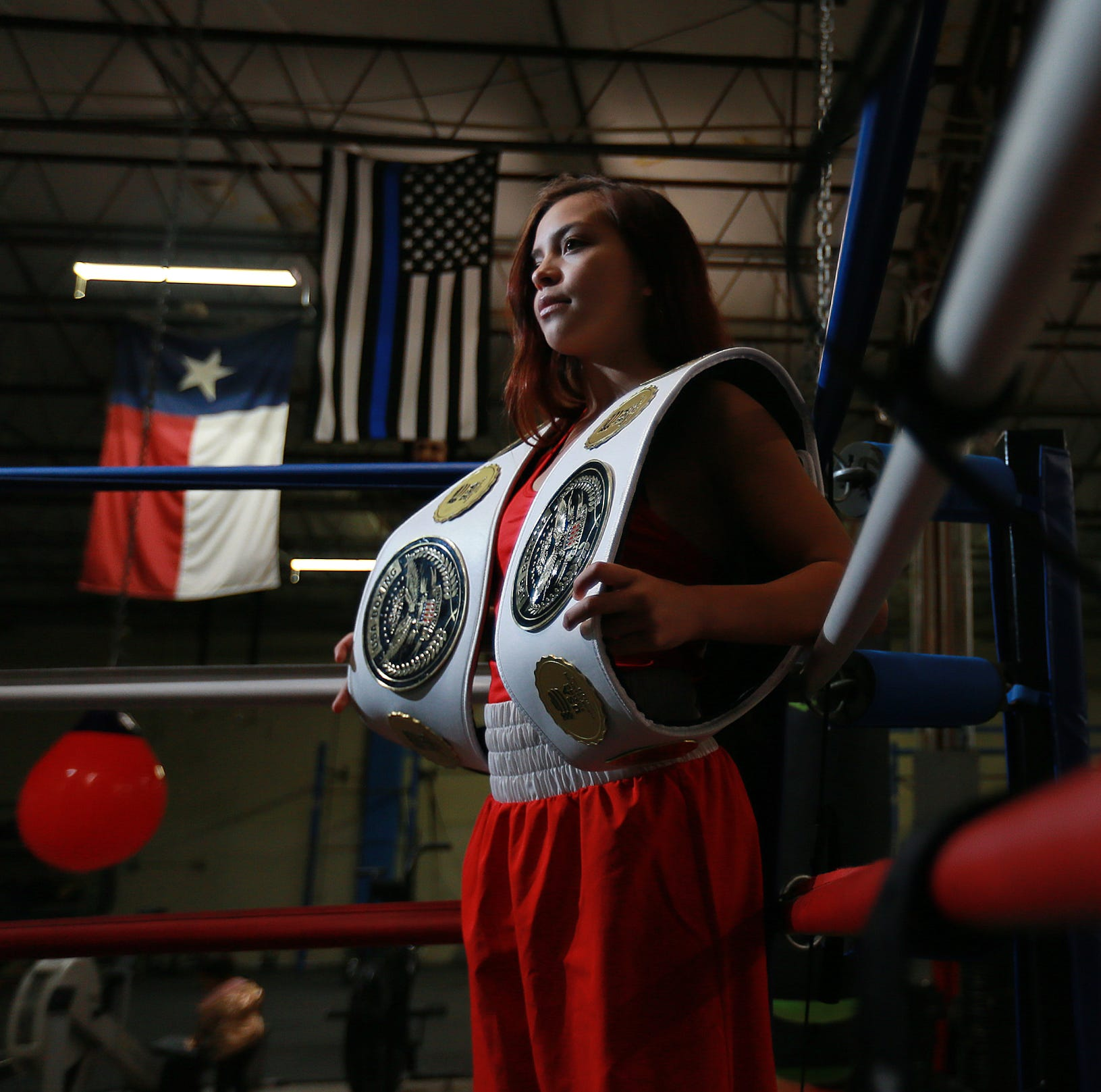 15-year-old Kayla Gomez of El Paso wins boxing championship, stays on US national team
