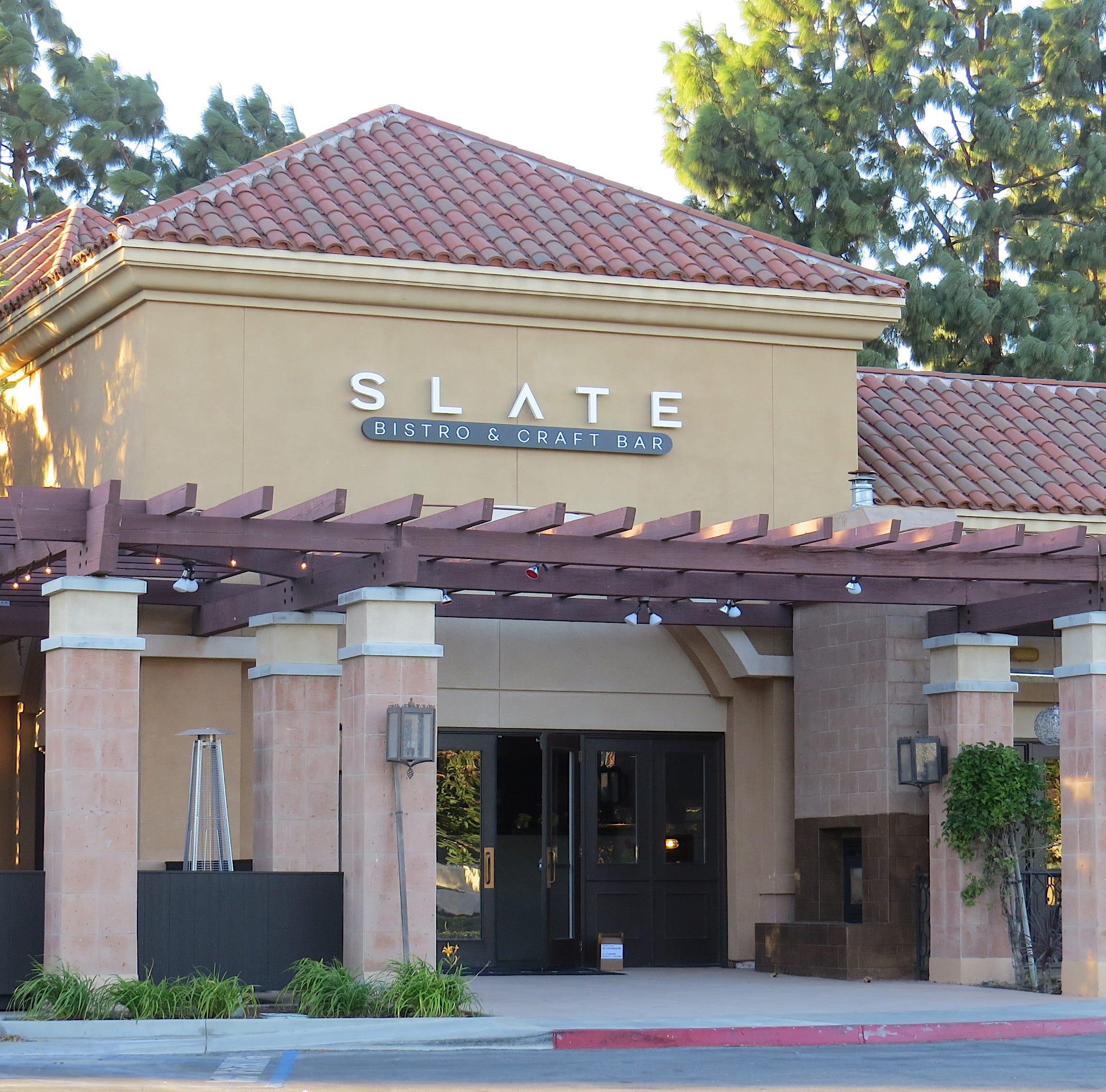 Open and Shut: Slate Bistro unveils new decor, menu at familiar Camarillo address