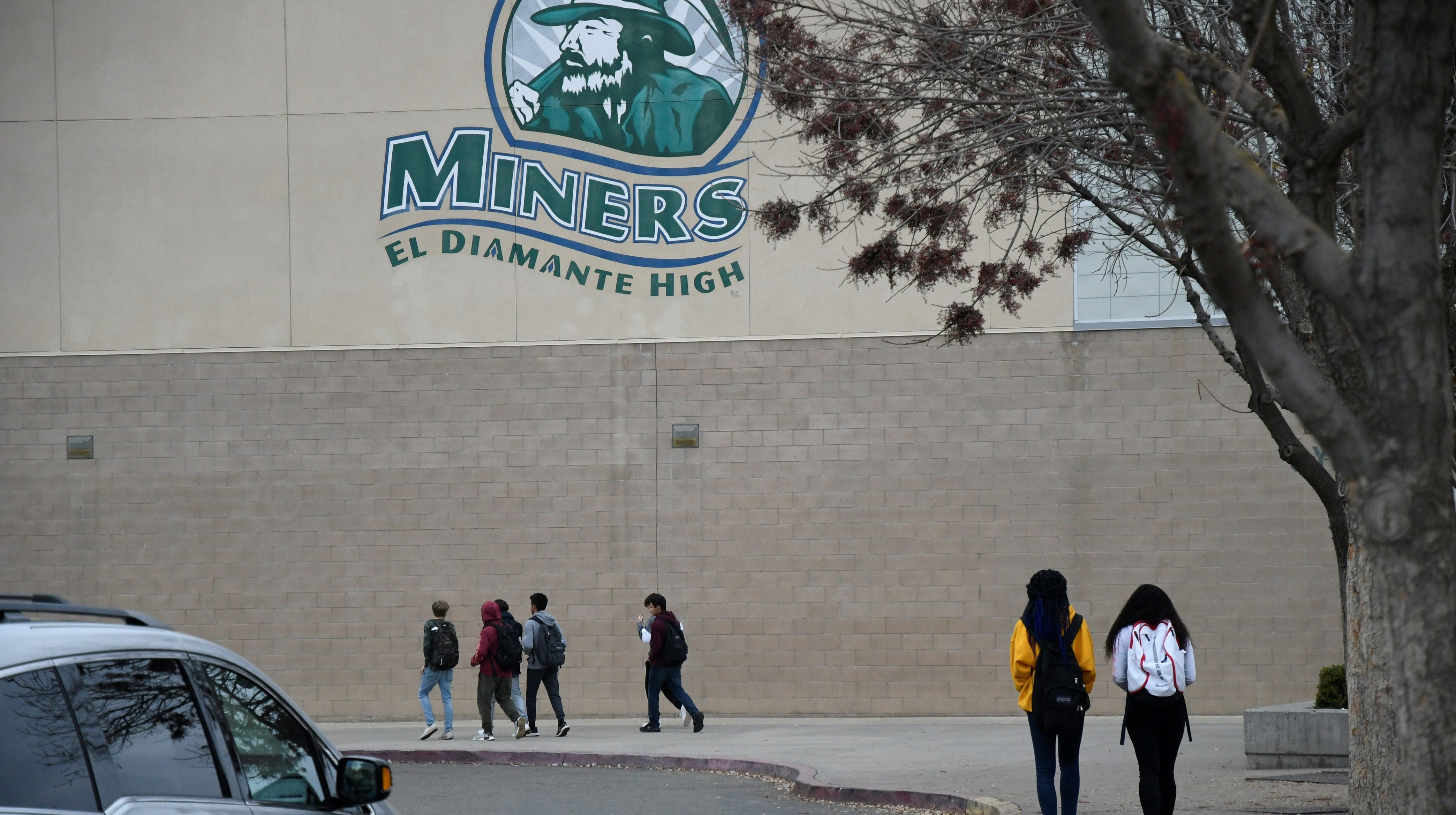 El Diamante High School is one of several schools targeted by the ACLU after students claim rampant racism on campus.