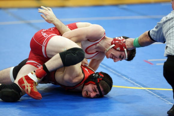 Division 1 wrestling dual meet semifinal at Mahopac High School Dec. 13, 2018.