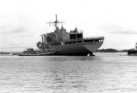 The second USS White Plains