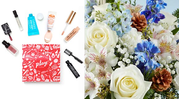 Subscriptions for small but fancy treats (Photo: Sephora, 1-800-Flowers)
