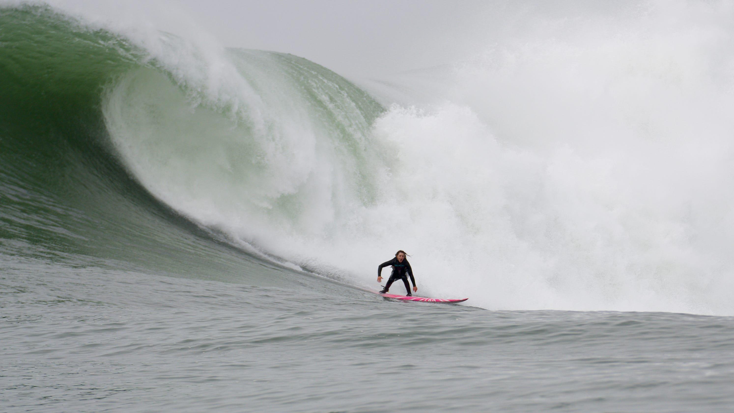 6b3fe474dd179 Women surfers win equal pay battle while risking death alongside men