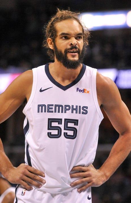 04baea758885 Nba Los Angeles Clippers At Memphis Grizzlies. Joakim Noah signed ...