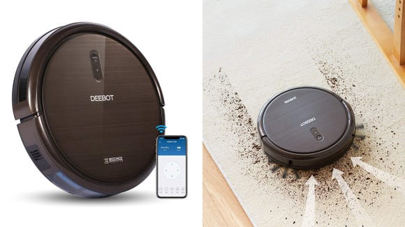 This robot vacuum can talk to Alexa, making it even easier to clean without doing a thing.