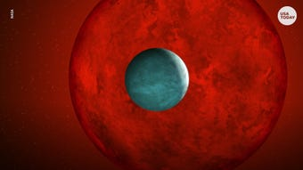 This exoplanet is sizzling away.
