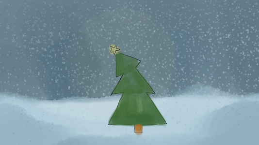 Bluechristmas Snow