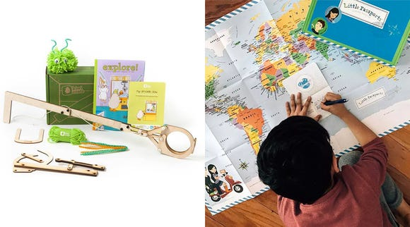 Subscription boxes for kids can be a treat all year around.