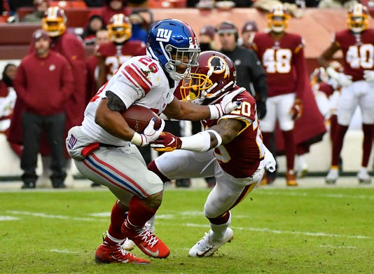Usp Nfl New York Giants At Washington Redskins S Fbn Was Nyg Usa Md