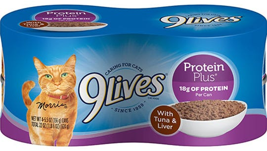 9Lives Protein Plus With Tuna & Chicken and 9Lives Protein Plus With Tuna & Liver have been voluntarily recalled by the J.M. Smucker Company.