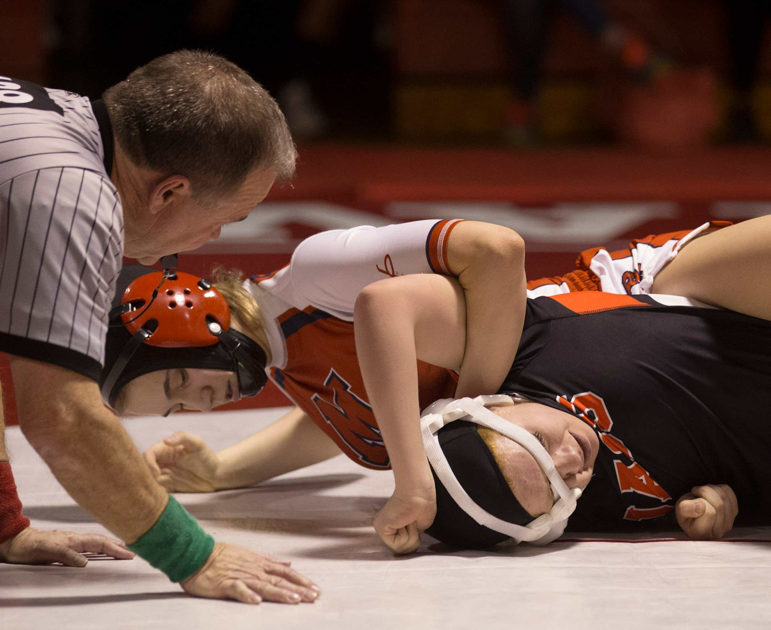 Girls high school wrestling at Shore off to good start