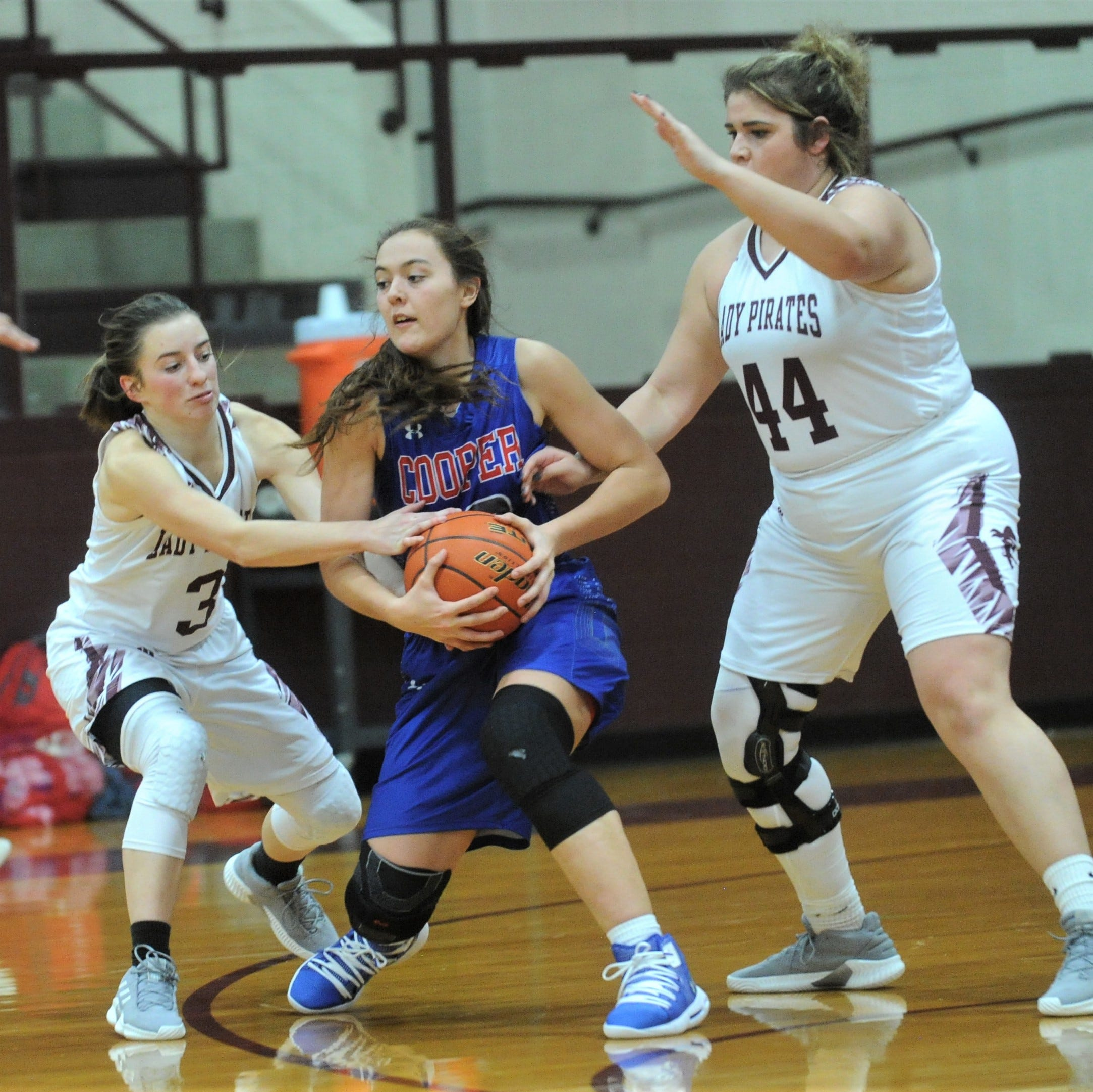 Class 1A No. 15 Eula fends off Abilene Cooper in girls basketball