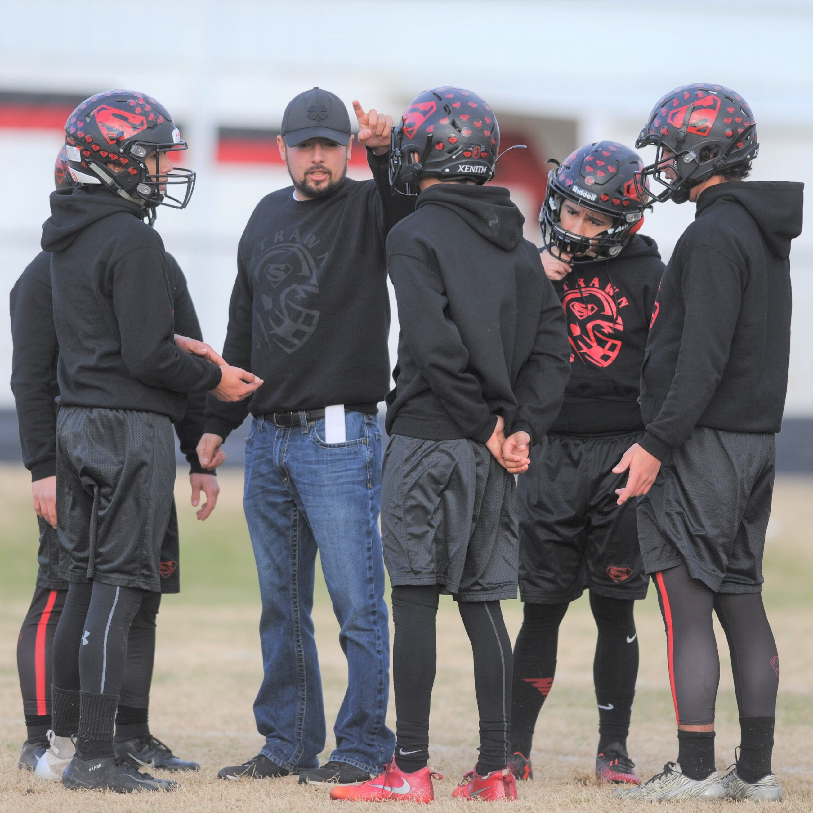 In high-scoring six-man football, stout Strawn defense makes its mark