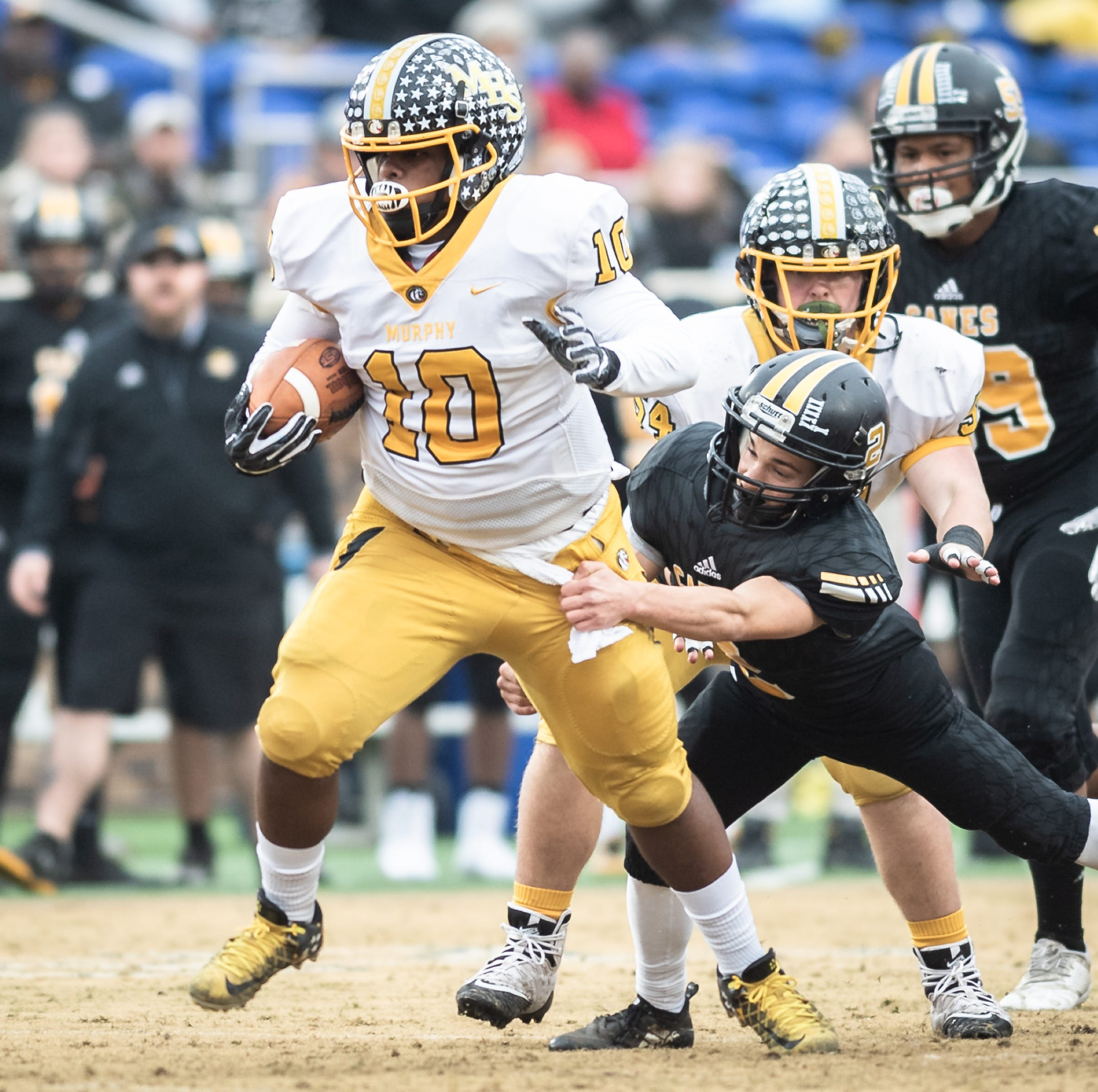Murphy wins ninth state title with rout of Pamlico County