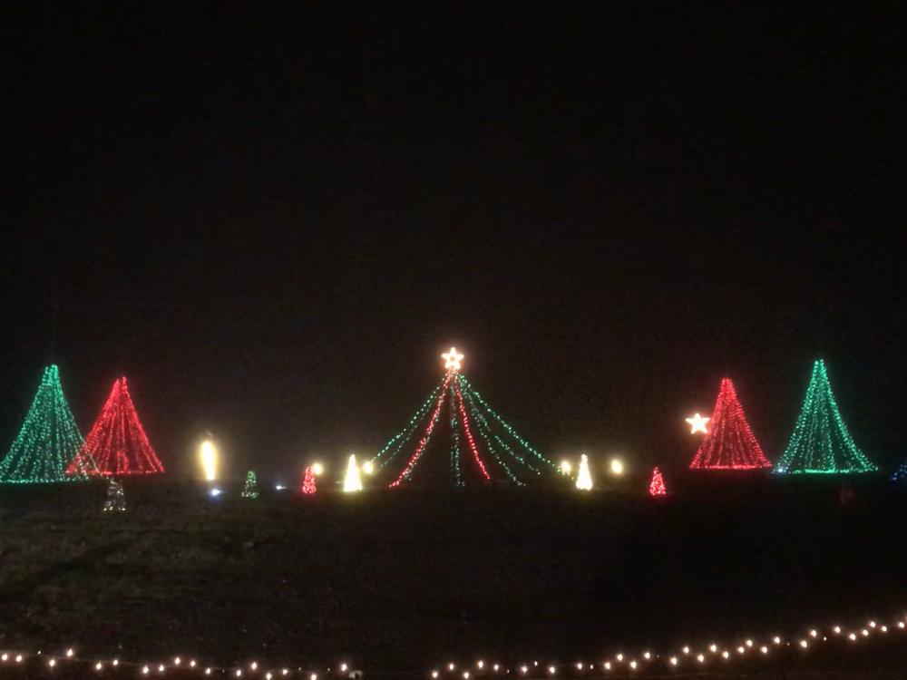 The Merry Mile at the Calhoun County Fairgrounds.