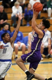 North Kitsap's Shaa Humphrey helped lead the boys basketball team to a sixth-place finish at the Class 2A state tournament.