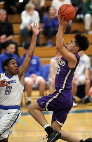 North Kitsap basketball player Shaa Humphrey and the Vikings entered the holiday break with a 7-1 record.