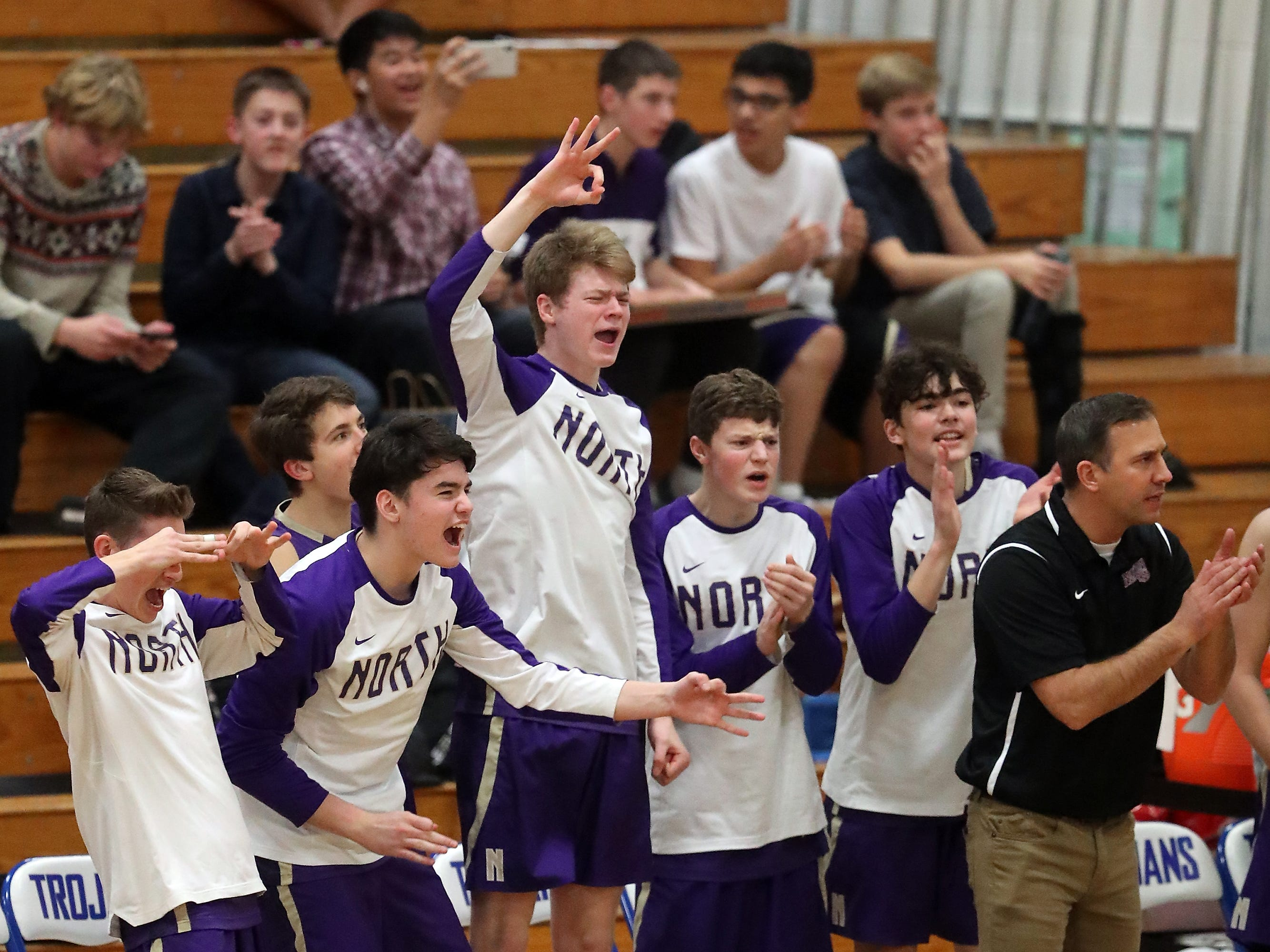 Olympic vs North Kitsap Boys Basketball at Olympic High on Friday, December 14, 2018.
