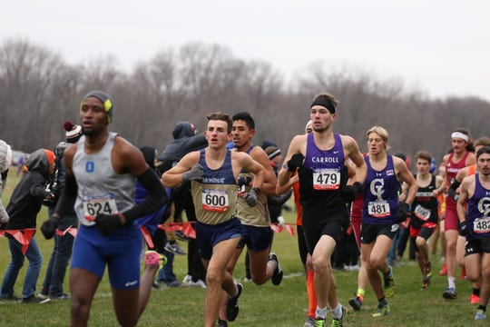 Western North Carolina's Nathan Richards led Montreat's men's team to the NAIA Nationals this fall