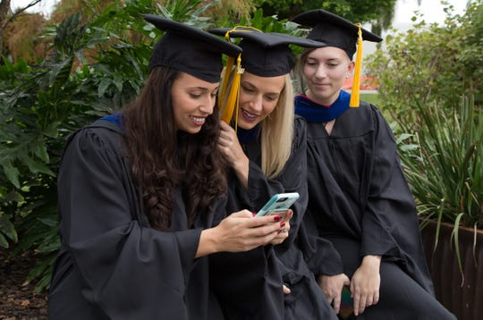 Florida Tech graduates hailed from 30 states — including 182 from Florida — and 60 countries. Saudi Arabia, China and India were among the countries with the highest representation.