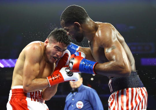 Gilberto Ramirez and Jesse Hart fought for the WBO Super Middleweight title on Friday, Dec. 14, 2018 at the American Bank Center.