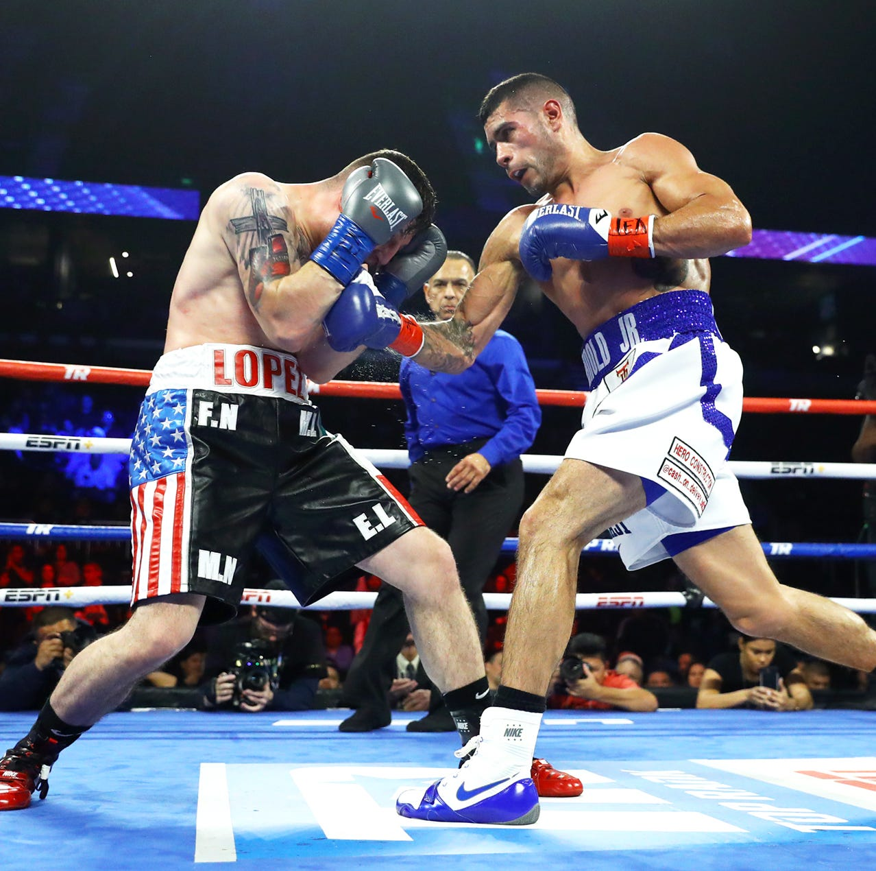 Top Rank Boxing Recap: Arnold Barboza Jr. tops Manuel Flores; Duran Jr. starts card with 2nd win of career