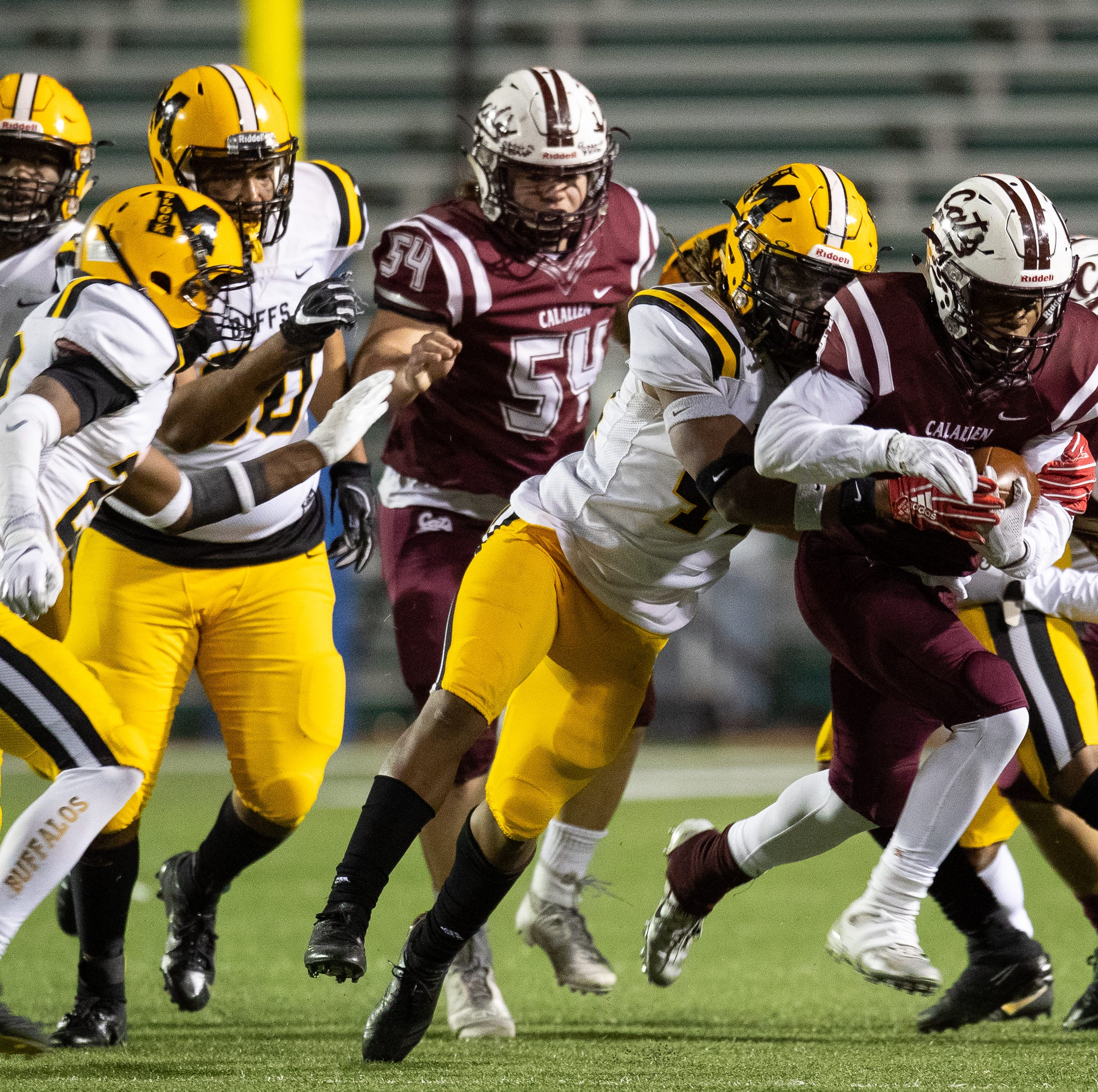 Fort Bend Marshall rallies in second half to edge Calallen in state semifinals