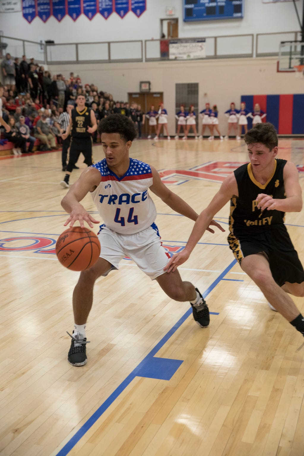 Zane Trace defeated Paint Valley 82-61 Dec. 8 at Zane Trace High School.