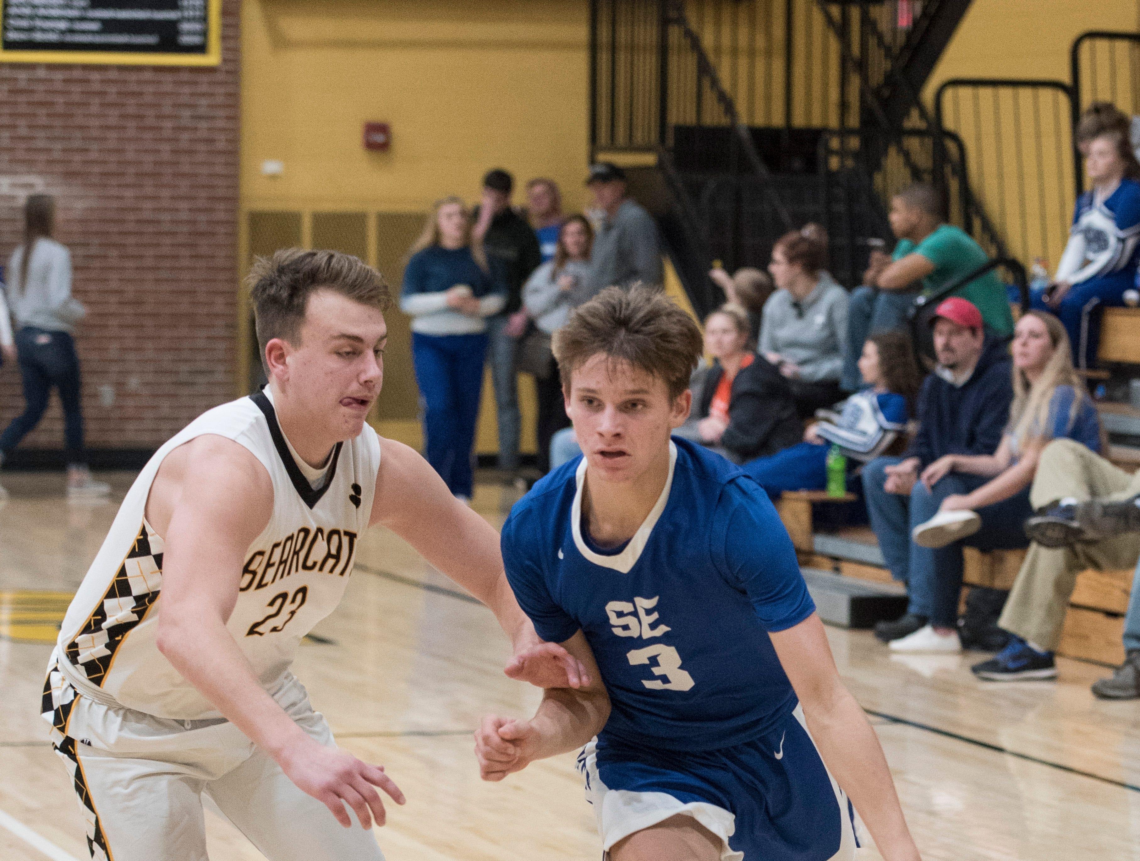 Paint Valley defeated Southeastern 60-55 Friday night at Paint Valley High School in Bainbridge, Ohio.