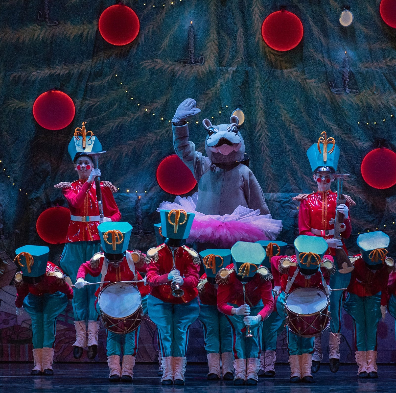 Review: Dancing hippo right at home in 2018 'Nutcracker'