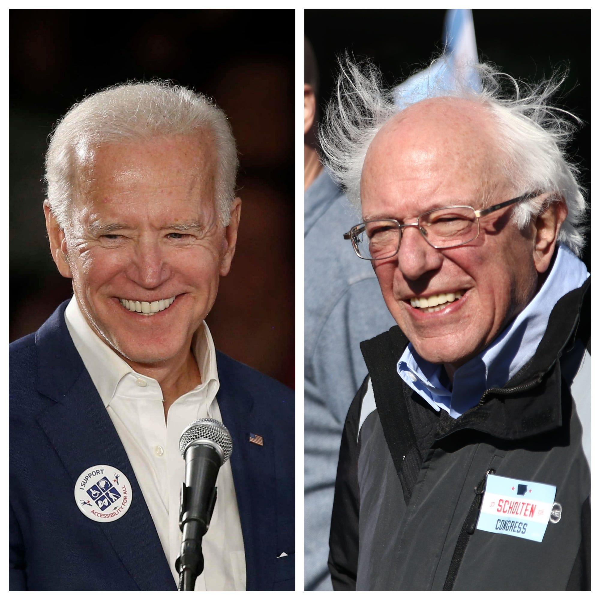 Iowa Poll: Biden, Sanders top early look at possible Democratic hopefuls in 2020 caucuses