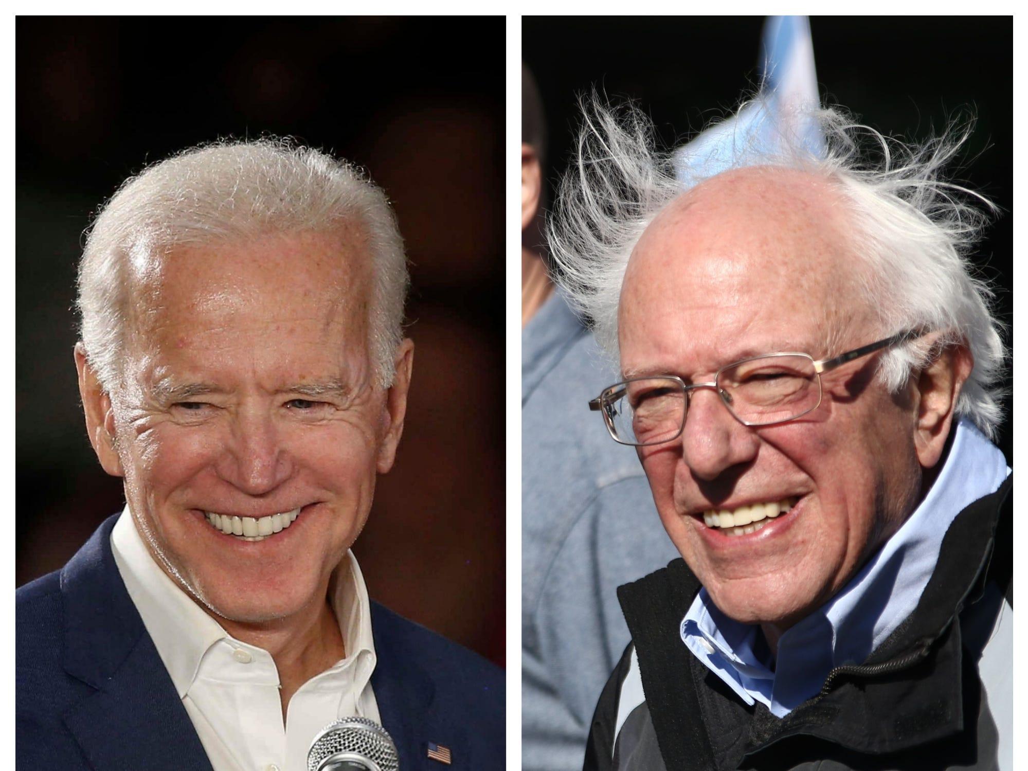 VT Insights: Name recognition keeps Bernie Sanders, Joe Biden tops in Democratic field