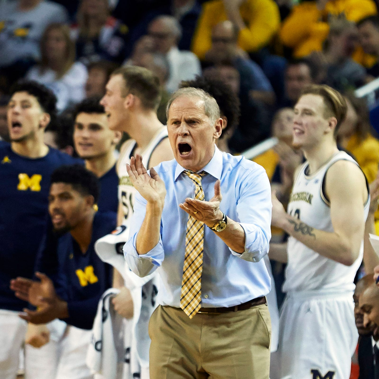 Michigan basketball's close win reminds Beilein of past upset bids