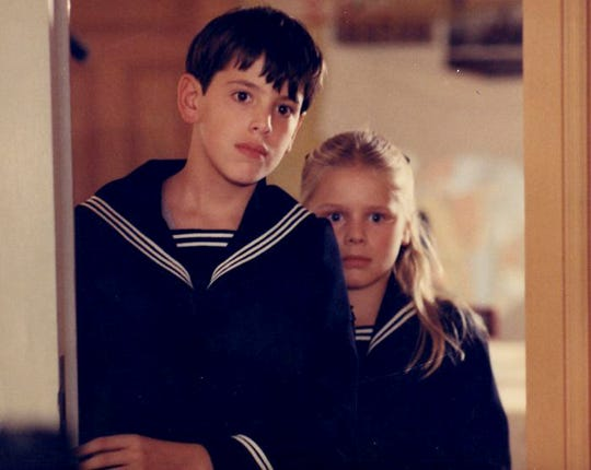 "Bertil Guve and Pernilla Allwin  in ""Fanny and Alexander."""