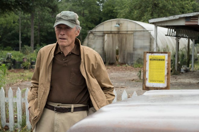 "Clint Eastwood in  ""The Mule."""