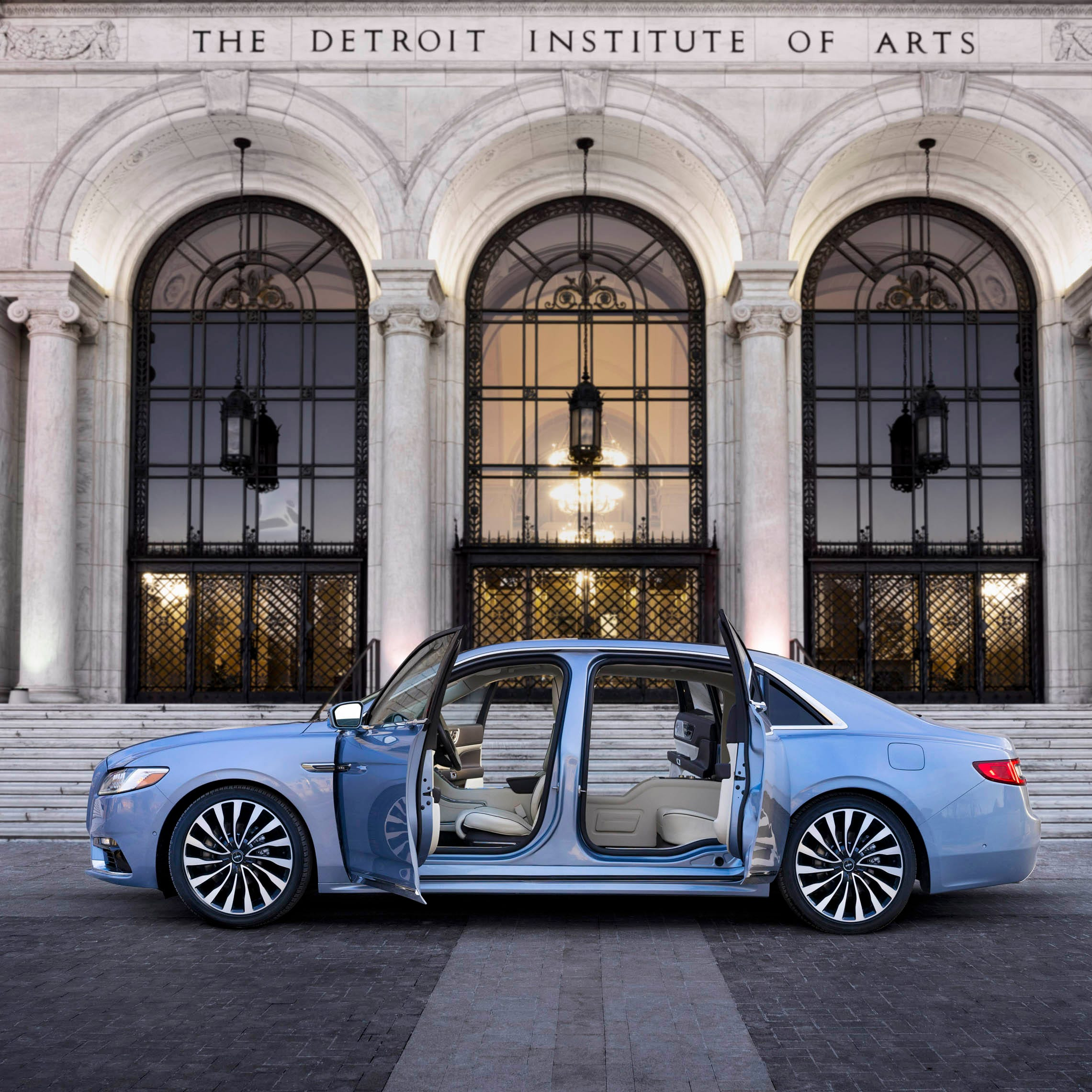 Lincoln Continental: A limited-edition design of 80 new cars for $100,000 each