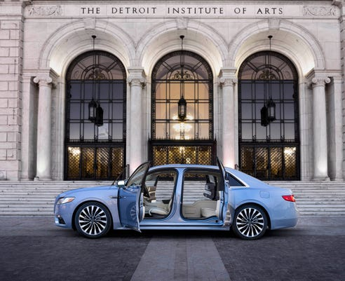 Lincoln Continental Makes Vintage Limited Edition With Suicide Doors