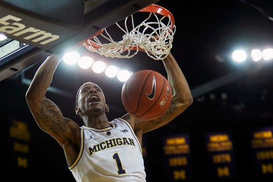 Ncaa Basketball Western Michigan At Michigan