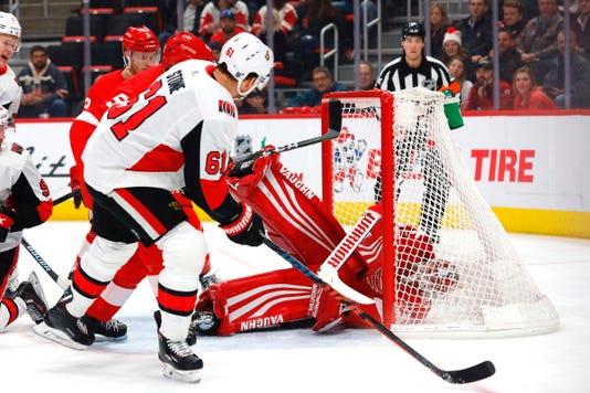 Nhl Ottawa Senators At Detroit Red Wings