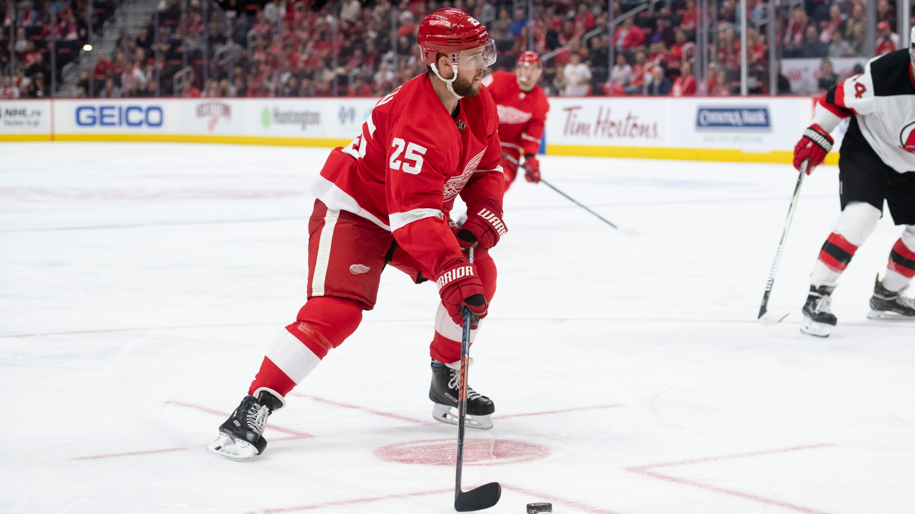 b122f3247 Red Wings' Mike Green out 3-5 weeks; Filip Hronek recalled from G.R.
