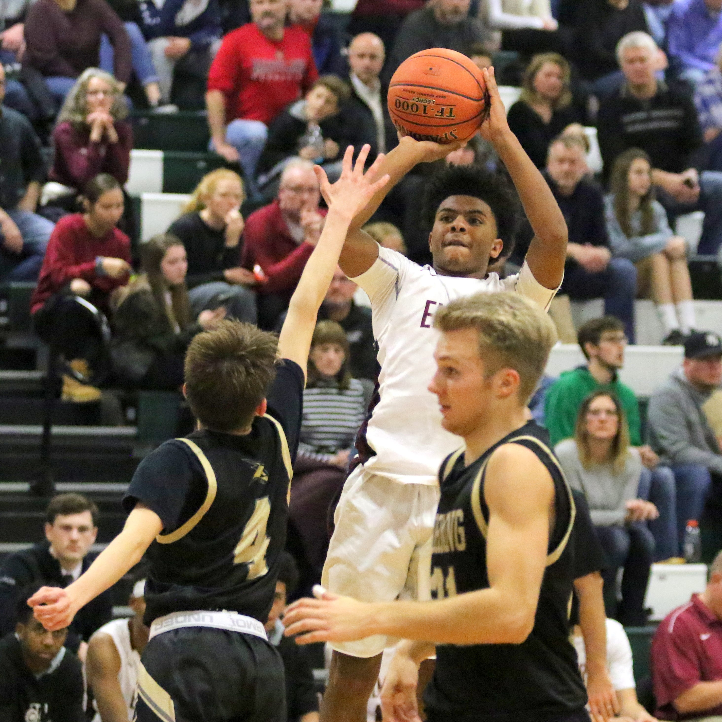 Daron Driscoll scores 24 as Elmira holds off Corning in boys basketball