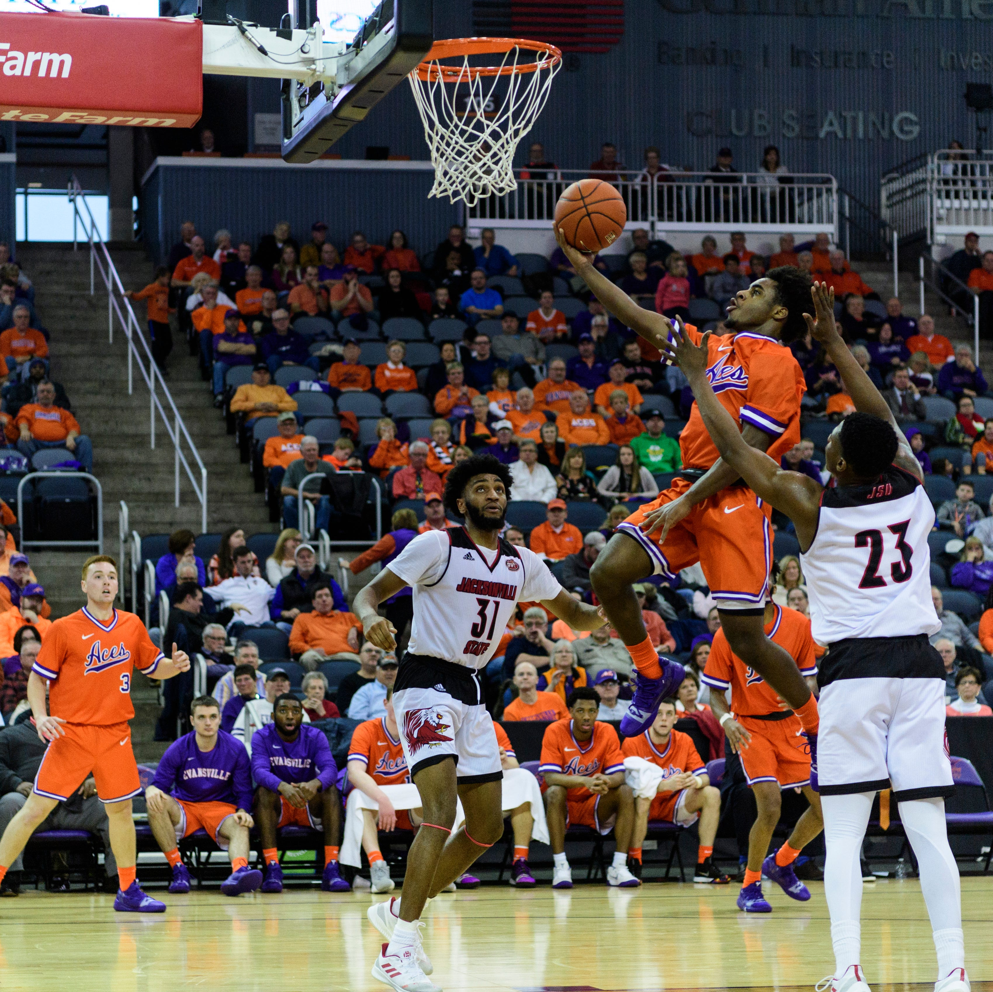 Shooting woes continue, but Aces played out of character in loss to Jacksonville State