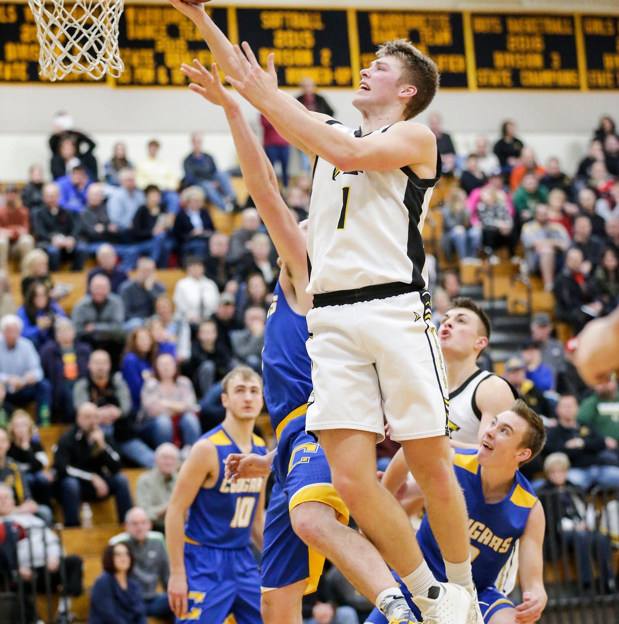 High school basketball: Local seniors achieve milestone moments in careers