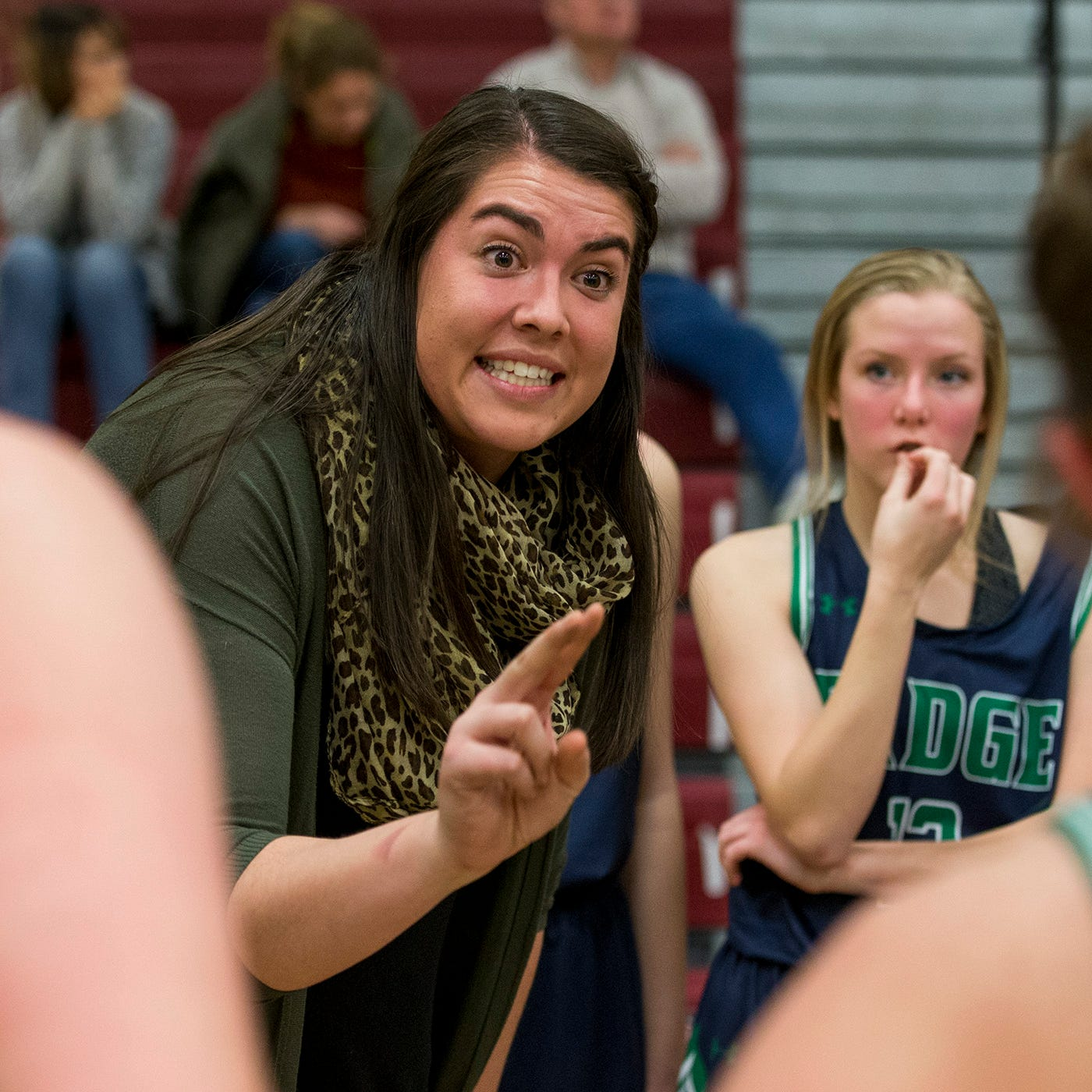Former CSU basketball star providing role model for female athletes as a high school coach