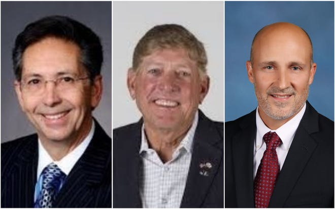 Public Official of the Year finalists are John Szerlag, Greg Adkins and the Lee County school board and Tommy Doyle.